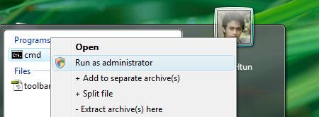 how to run msi as admiistrator