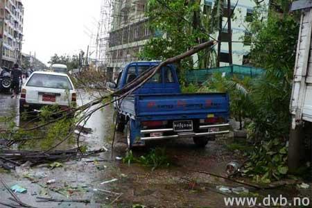 nargis cyclone hit yangon