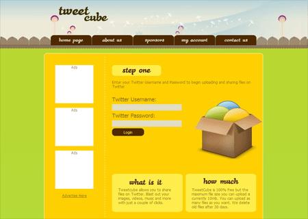 Tweet Cube